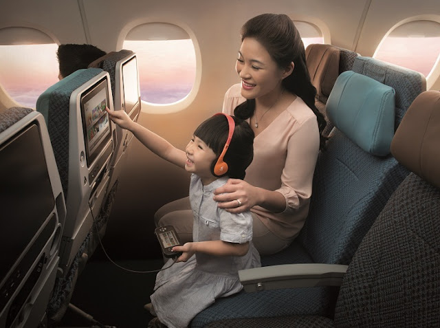 Economy Class bei Singapore Airlines