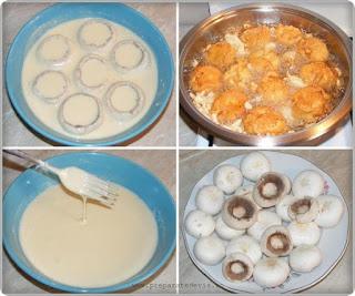retete ciuperci in aluat pane prajite la tigaie preparare, retete culinare, retete cu ciuperci, retete de ciuperci, preparate din ciuperci, retete culinare, cum facem ciuperci pane,