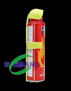 hình ảnh bình chữa cháy mini 1000ml dành cho xe hơi