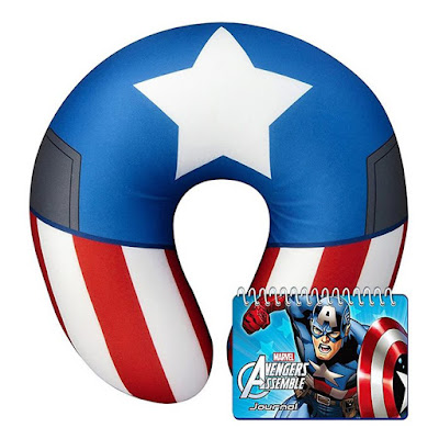 Captain America Neck Pillow