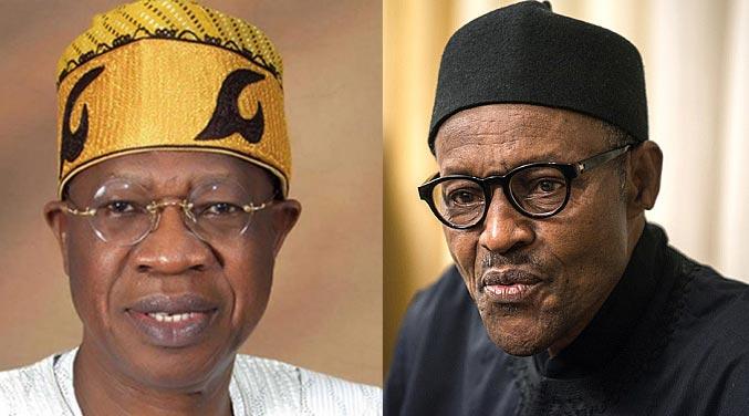 I pity Lai Mohammed - Buhari