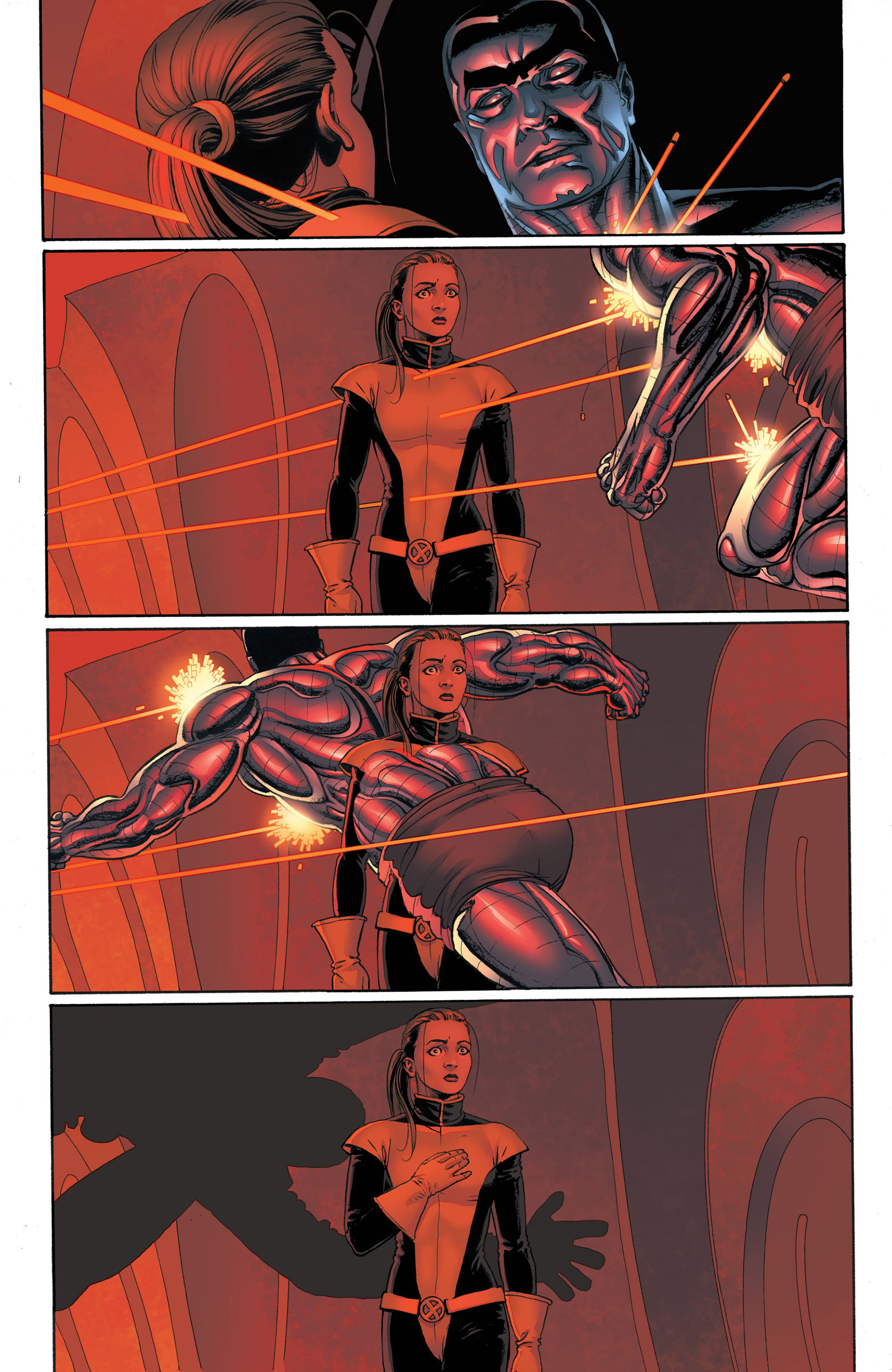Read online Astonishing X-Men (2004) comic -  Issue #4 - 21