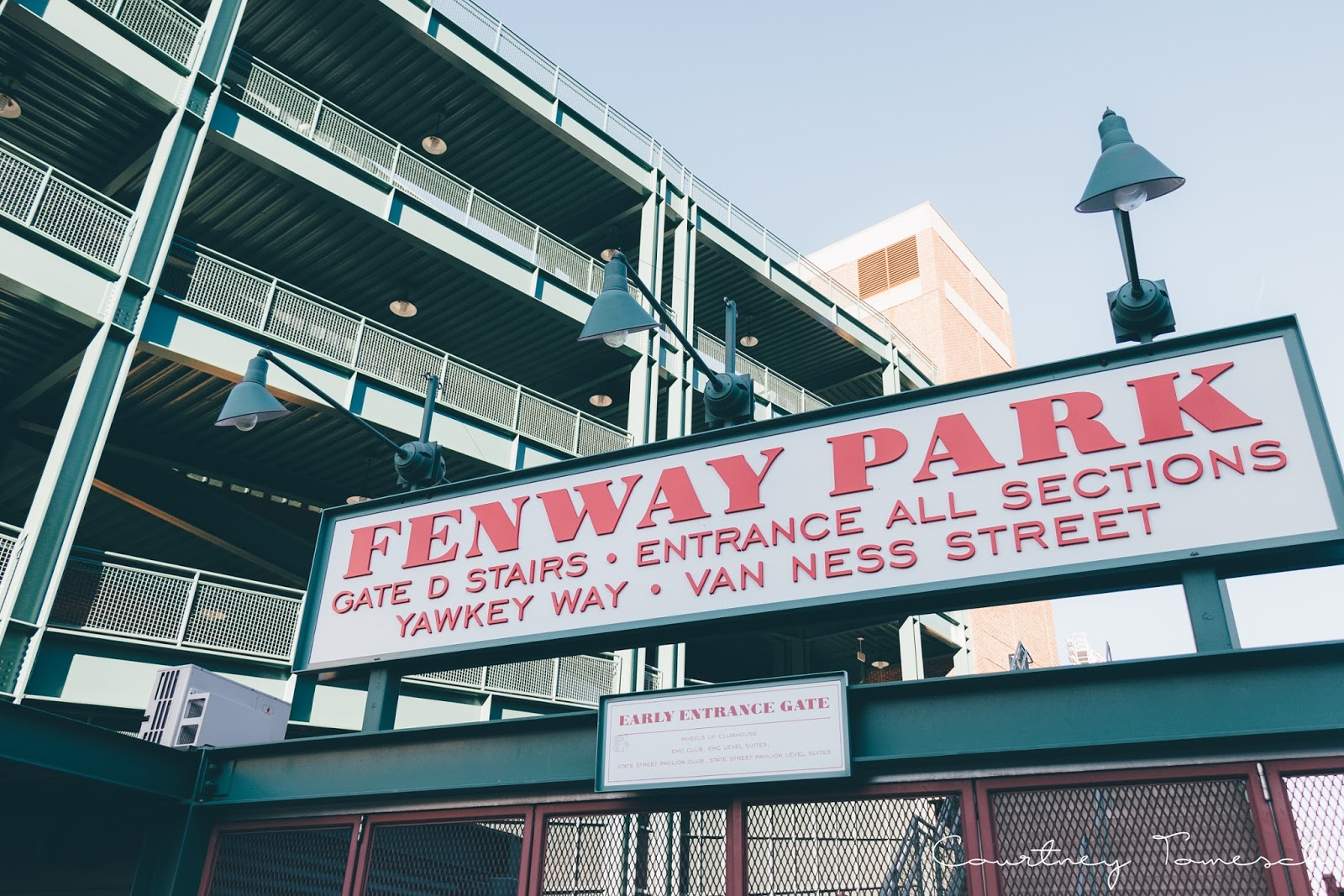 Courtney Tomesch Exploring Fenway Park