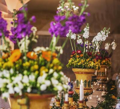 centrotavola matrimonio fiori eco