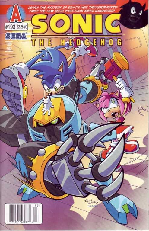Hedgehogs Can T Swim Sonic The Hedgehog Issue 193