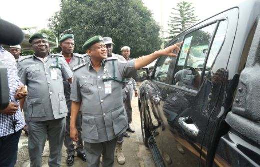 Photos: Illegally Imported 27 Brand New Hilux Worth N420m