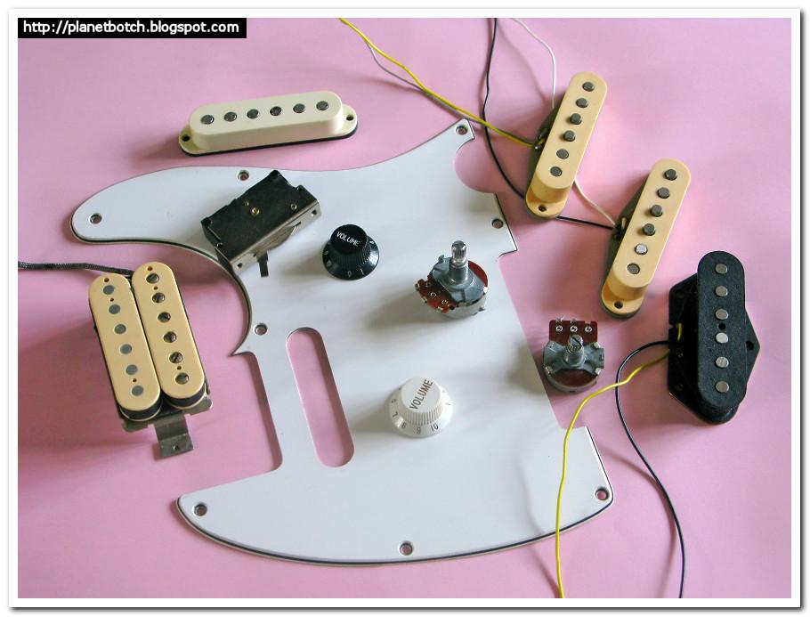 Guitar pickups and parts