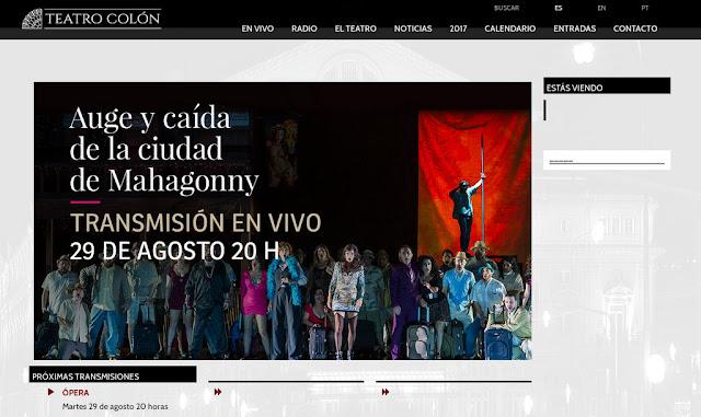 La ópera Ascenso y caída de la ciudad de Mahagonny podrá verse por streaming en la web del Teatro Colón