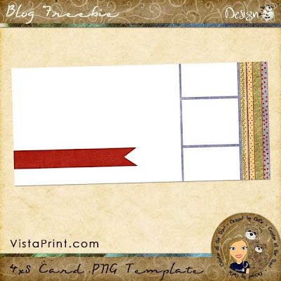 4x8 Card Template by DeDe Smith (DesignZ by DeDe)