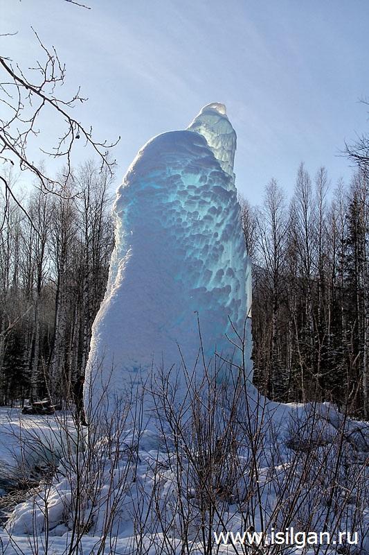 """Ледяной фонтан 2018. Национальный парк """"Зюраткуль"""""""