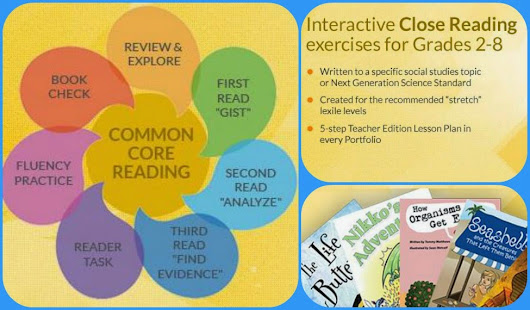 Kleinspiration: Interactive Exercises from @SnapLearning to Practice Close Reading