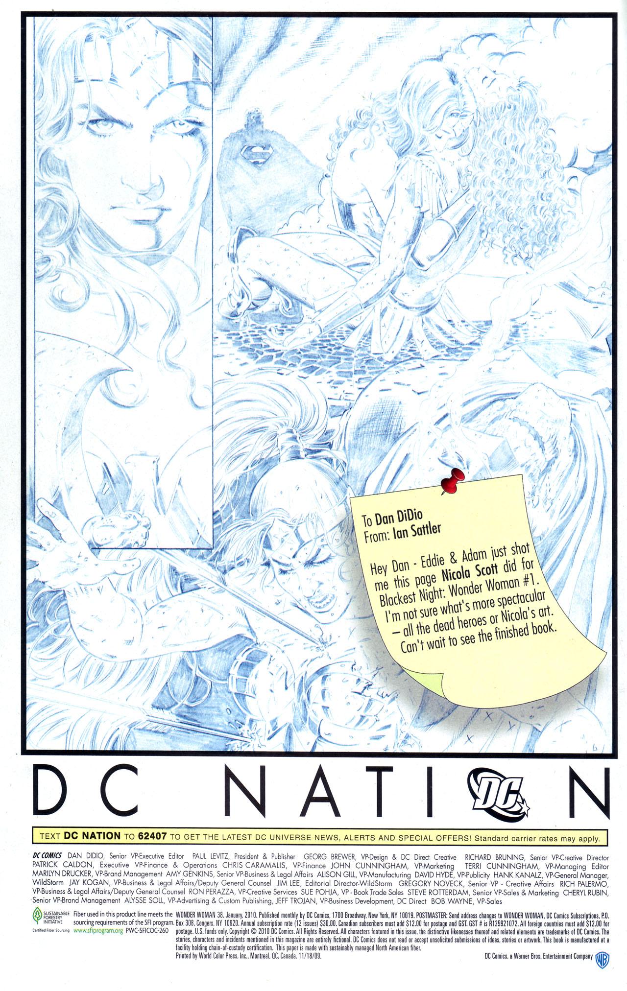 Read online Wonder Woman (2006) comic -  Issue #38 - 24