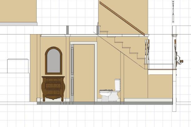 Desain Kamar Mandi Unik Modern Ukuran Kecil