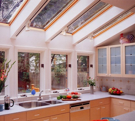 หลังคาสกายไลท์(Skylight) ในห้องครัว