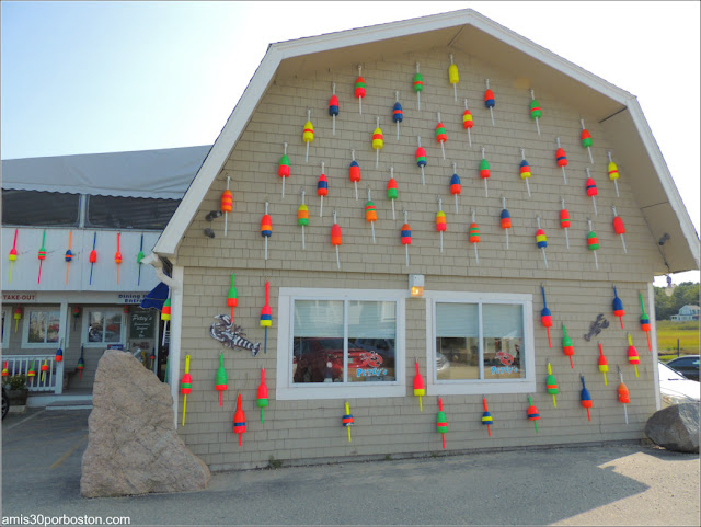 Lobster Shacks en New Hampshire: Petey's Summertime Seafood and Bar