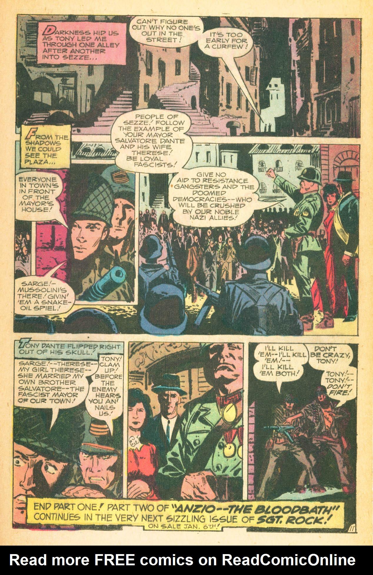 Read online Sgt. Rock comic -  Issue #302 - 21