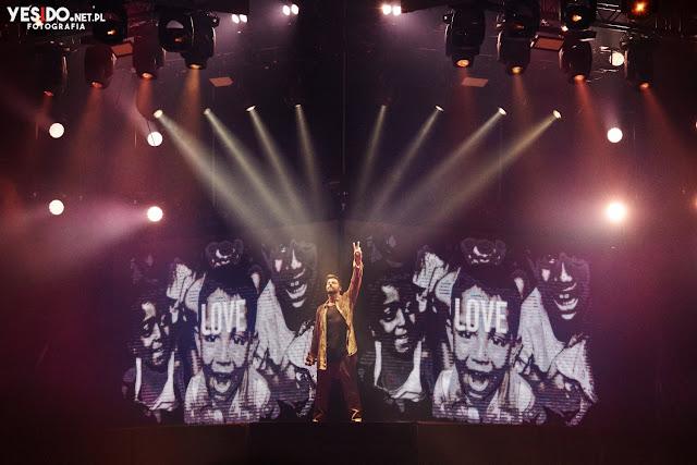 Ricky Martin na koncercie w Gdańsku 2018