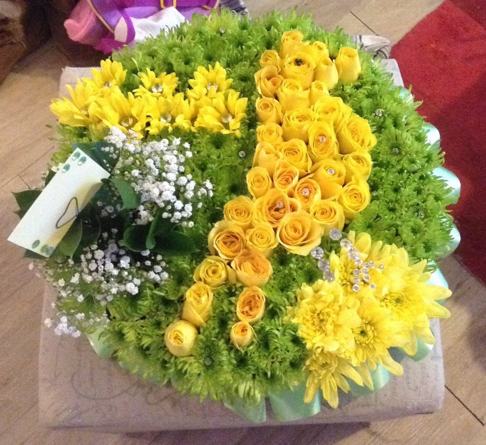 Callaways Creations Funeral Flowers For An All Time Norwich City