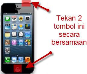Ambil Screenshot Di iPhone iPad
