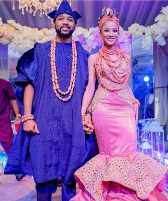 Omotola Jalade-Ekeinde warns BankyW and Adesua Etomi over impending danger in their marriage