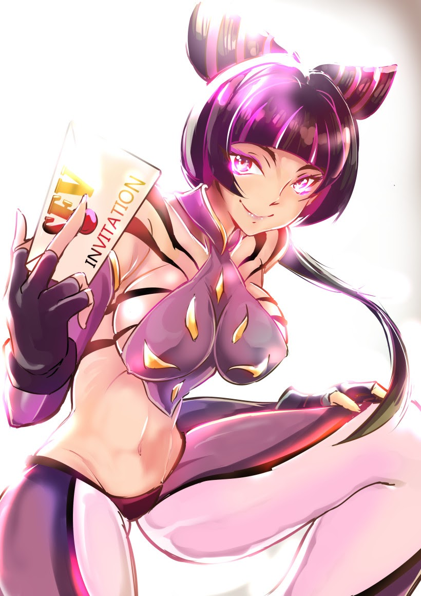 juri han invites for a the tournament street fighter