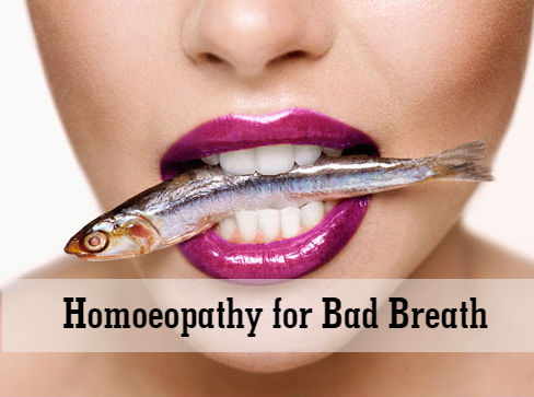 Homoeopathy for Bad Breath