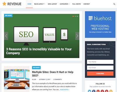 Wordpress Kişisel Blog Teması
