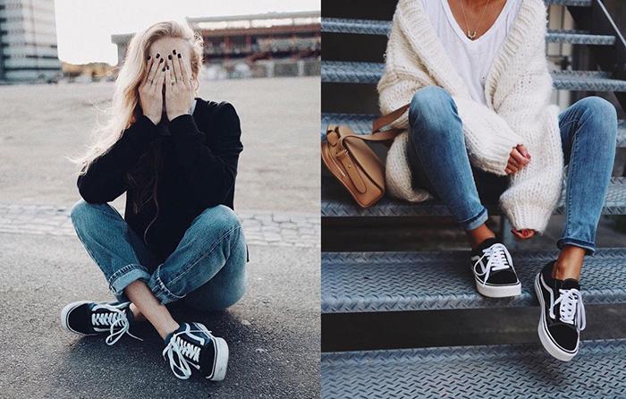 vans e jeans