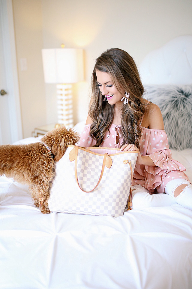 Southern curls pearls louis vuitton neverfull review for Louis vuitton bin bags
