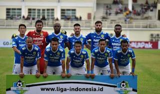 Susunan Pemain Persib Bandung vs Perseru Serui - Liga  Jumat 23/11/2018