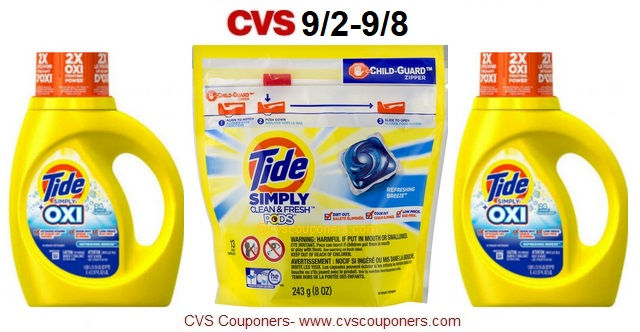 http://www.cvscouponers.com/2018/09/hot-pay-194-for-tide-simply-detergent.html