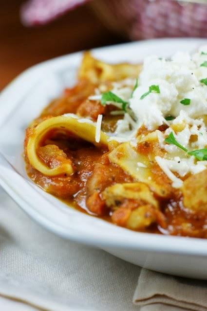 Chicken Lasagna Stew