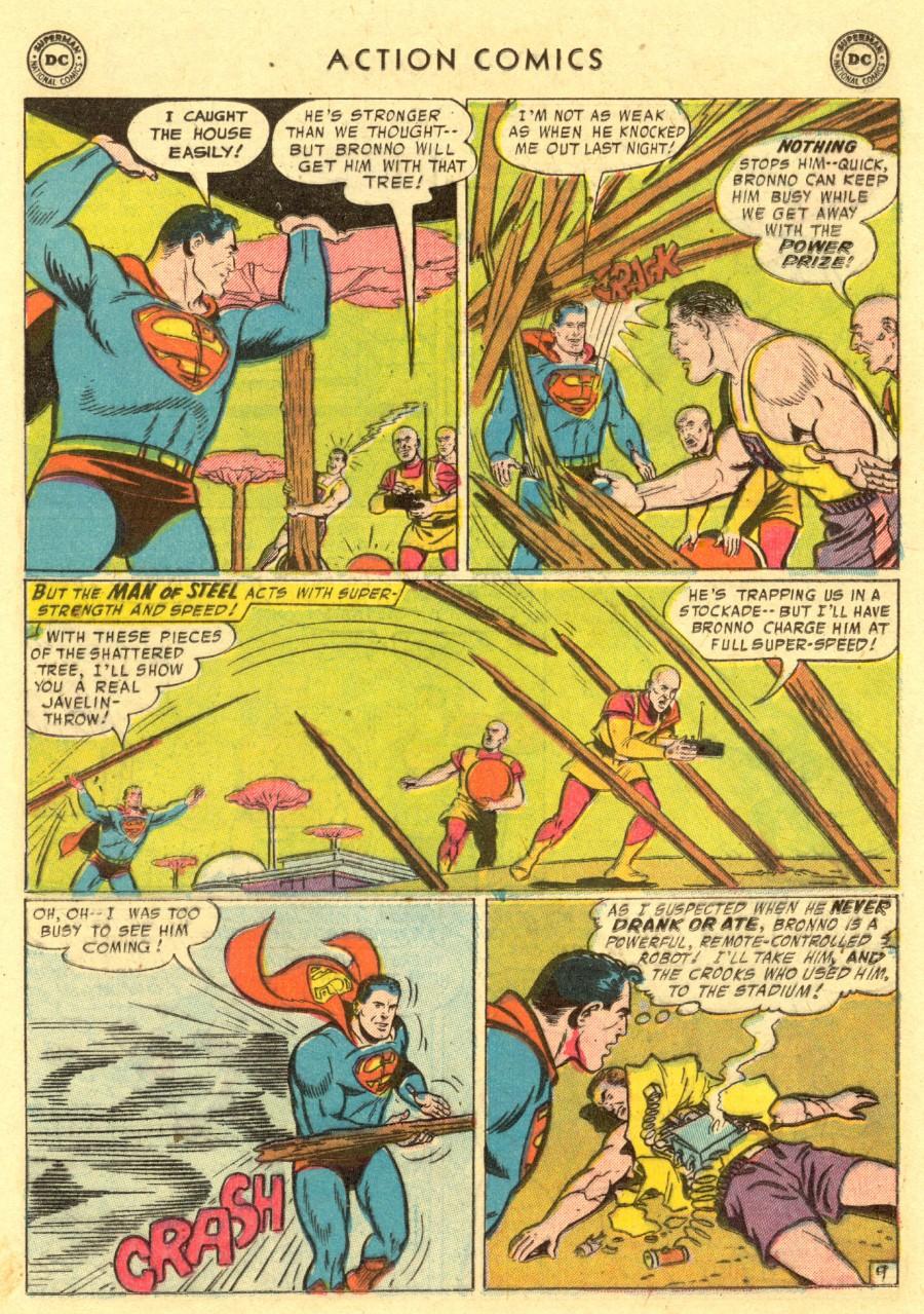 Action Comics (1938) 220 Page 10