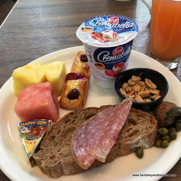 breakfast buffet plate 2 at Regent Taipei in Taiwan