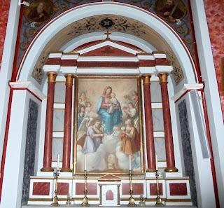 o Καθολικός ναός του αγίου Ιωάννη στην Άνω Σύρο