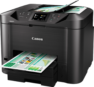 is designed for a modest business office with greater impress requirements as well as for this purpose I tin hand notice  Canon Maxify MB5460 Driver Download