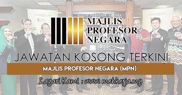 Jawatan Kosong Terkini 2018 di Majlis Profesor Negara (MPN)
