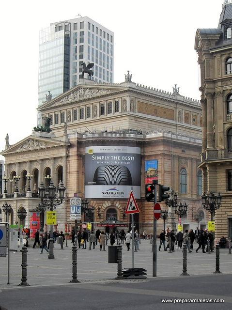 La ópera de Frankfurt