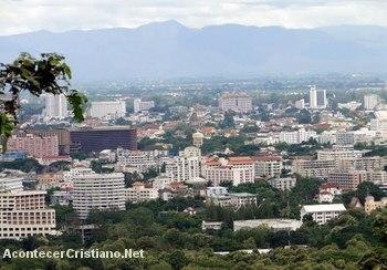 Vista de la ciudad de Chiang Mai