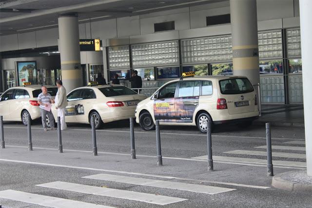 Táxis do aeroporto até o centro de Hamburgo