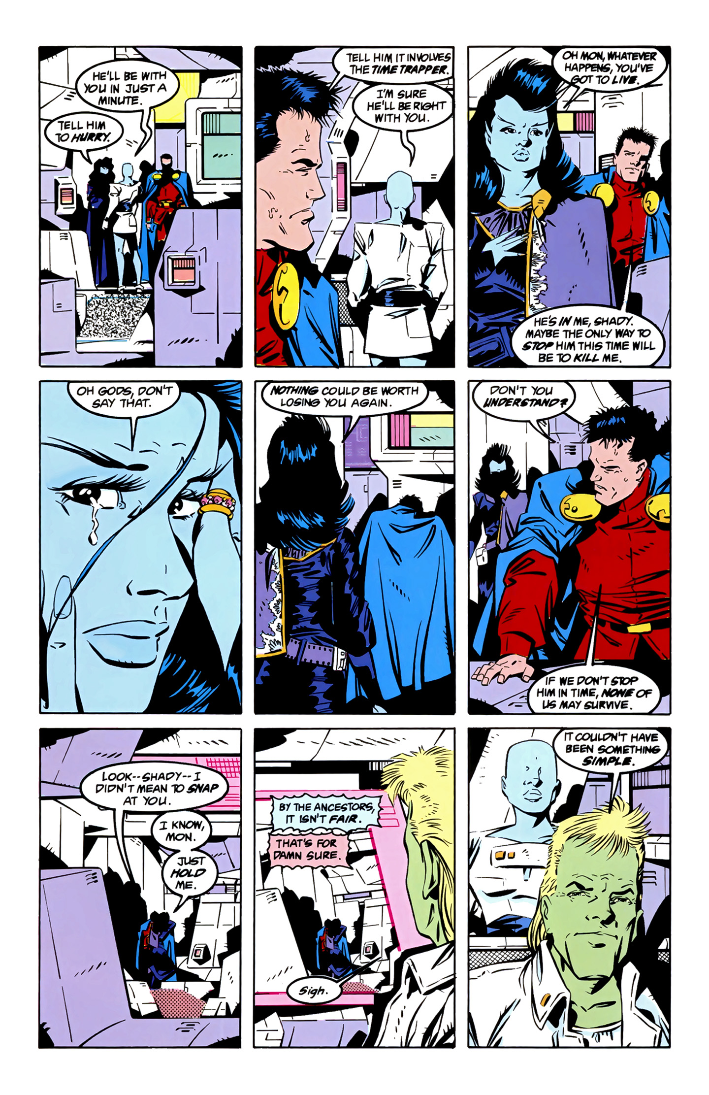 Legion of Super-Heroes (1989) 4 Page 6