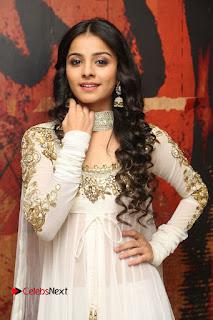 Telugu Actress Mahima Makwana Stills in White Desginer Dress at Venkatapuram Movie Logo Launch  0051.JPG