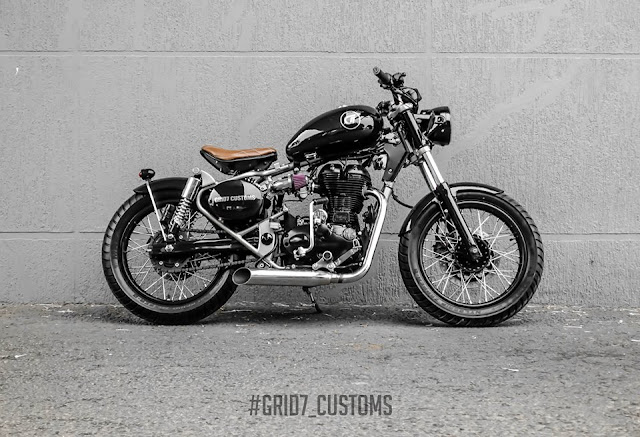 Grid7 Customs Brat Bob - Modified Royal Enfield