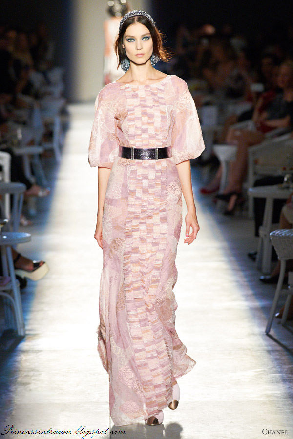 chanel wedding dresses prinzessin tr 228 ume chanel 2012 couture kollektion f 252 r 2556