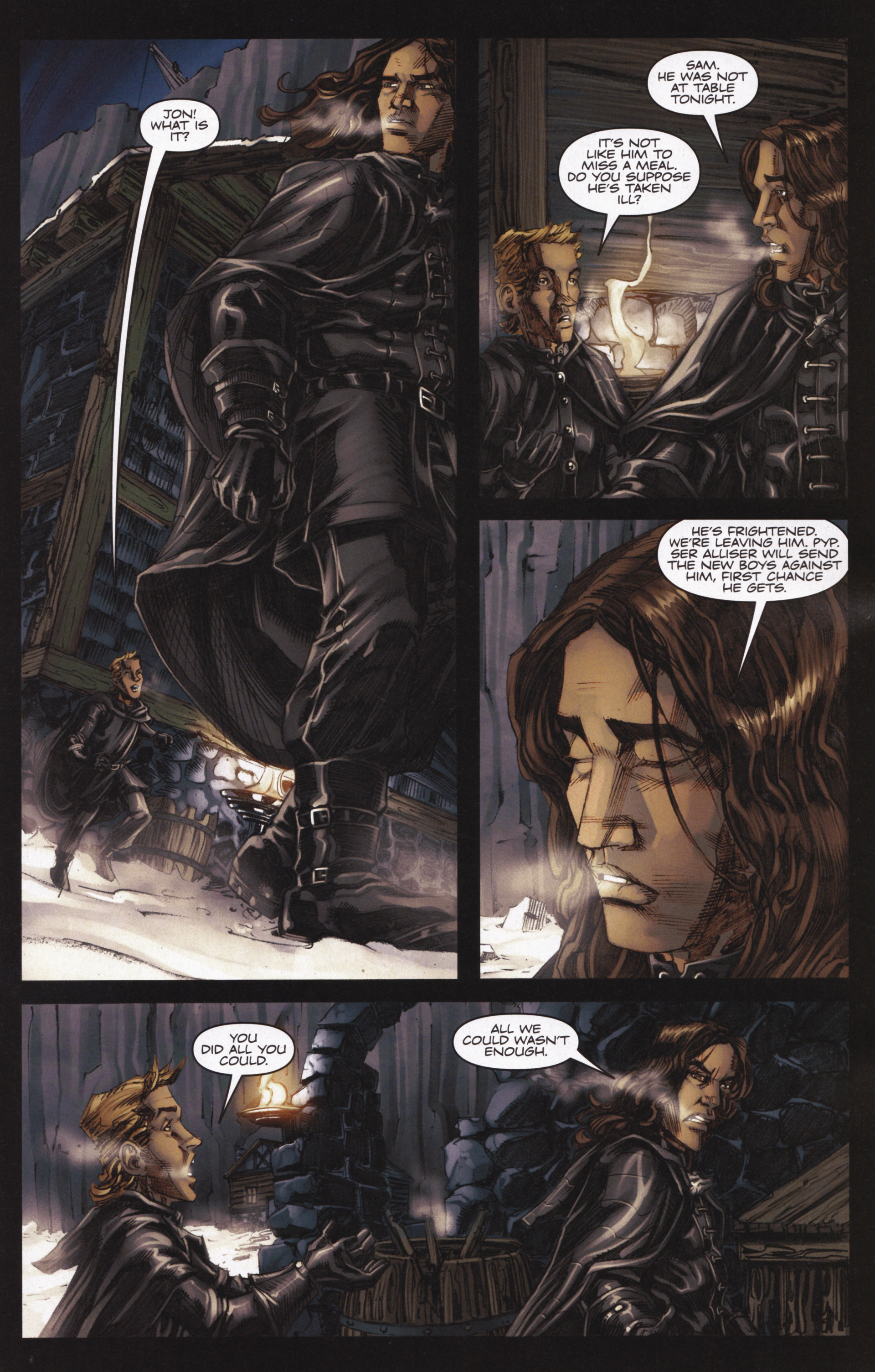 Read online A Game Of Thrones comic -  Issue #13 - 13