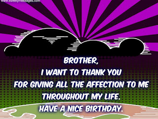 have a nice birthday brother