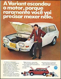 propaganda Variant - Volkswagen - 1970, Variant anos 70, Volkswagen década de 70, Volks anos 70, Oswaldo Hernandez,
