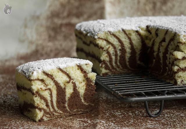 Zebra Sponge Cake (Bizcocho japonés)