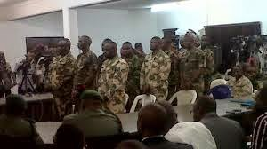 Nigerian army courtmartialled