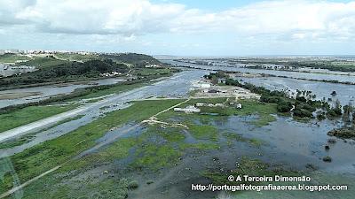Cheias do Rio Tejo - Aeródromo de Santarém